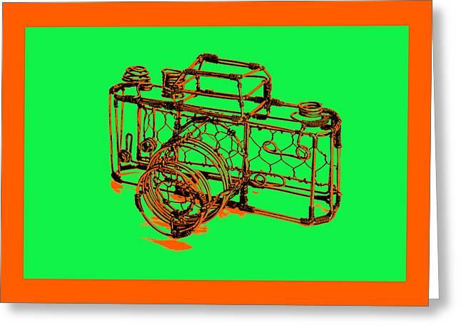 Camera 1c Greeting Card by Mauro Celotti