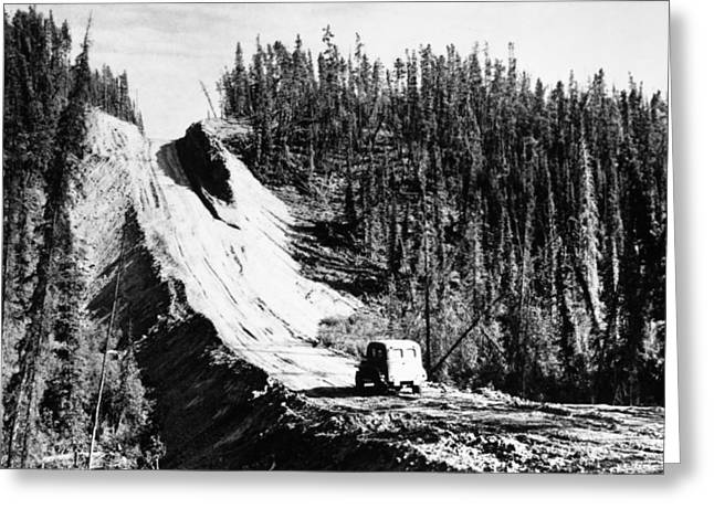 Canada: Alaska Highway Greeting Card by Granger