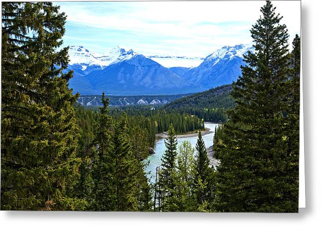 Canadian Lake 1691 Greeting Card by Larry Roberson