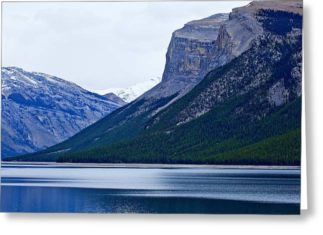 Canadian Lake 1726 Greeting Card by Larry Roberson
