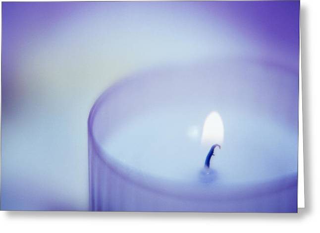 Candle Greeting Card by Cristina Pedrazzini