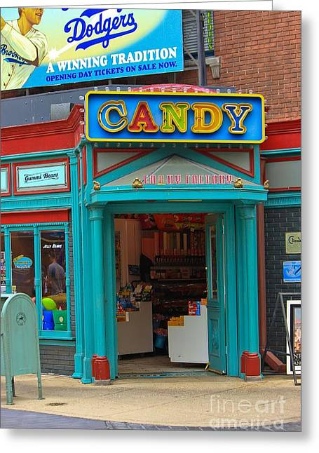 Candy Store Greeting Card by Sophie Vigneault