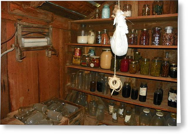 Canning Shed I Greeting Card by Sheri McLeroy