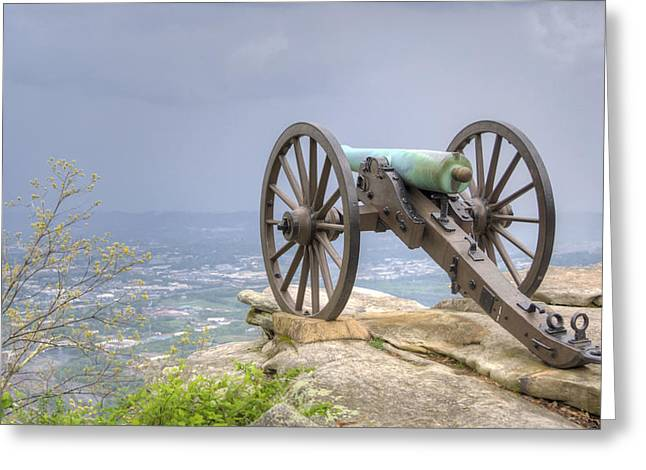 Cannon 2 Greeting Card by David Troxel