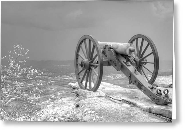 Cannon Greeting Card by David Troxel