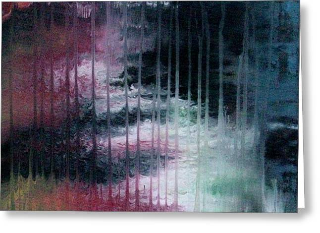 Can't See The Forest For The Rain Greeting Card