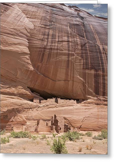 Greeting Card featuring the photograph Canyon De Chelly Ruins by Gregory Scott