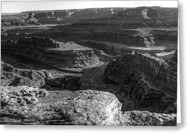 Canyonlands Glory Greeting Card by Scott McGuire