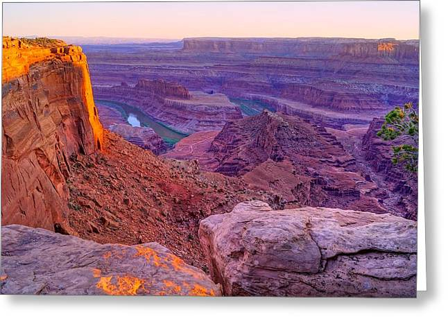 Canyonlands Magical Light Greeting Card by Scott McGuire