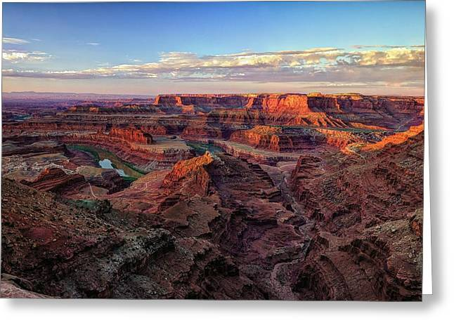 Canyons Of The Colorado Greeting Card