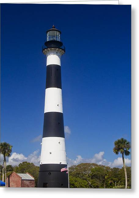 Cape Canaveral Lighthouse 2 Greeting Card by Roger Wedegis