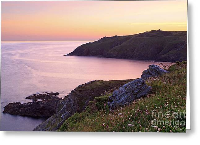 Cape Cornwall To Kenidjack Castle Greeting Card