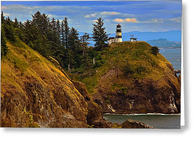 Cape Disappointment  Greeting Card by Robert Bales