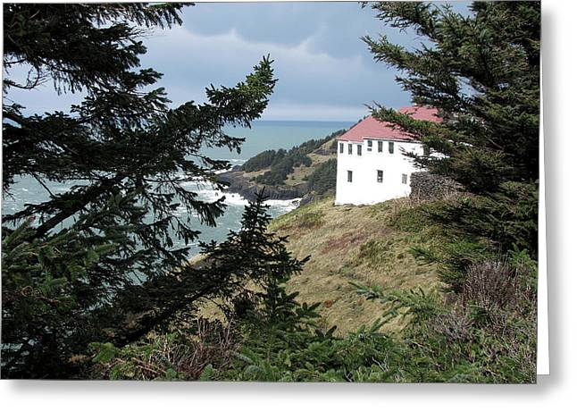 Cape Foulweather Clouds Greeting Card