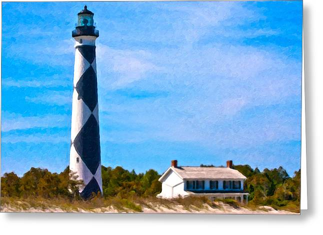 Cape Lookout  Greeting Card by Betsy Knapp