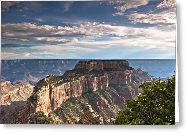 Cape Royal North Rim Grand Canyon Greeting Card