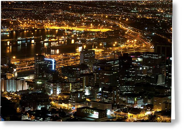 Cape Town Greeting Card by Fabrizio Troiani