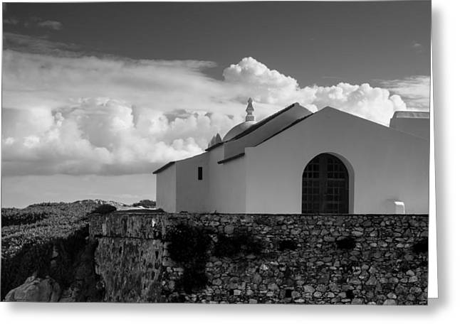 Capela Do Baleal Greeting Card