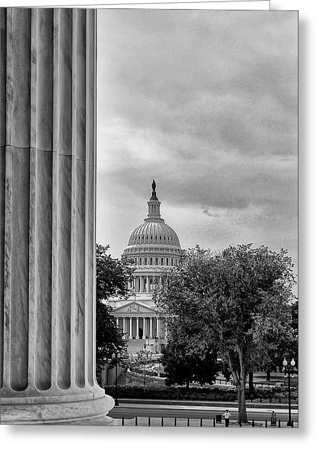 Capitol View Greeting Card by Boyd Alexander