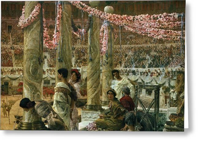 Caracalla And Geta Greeting Card