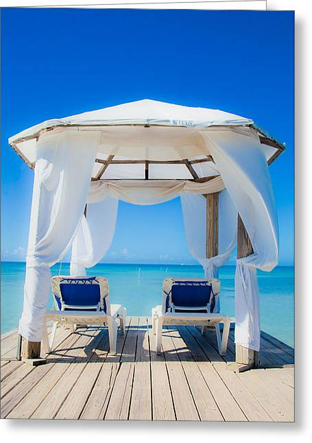 Caribbean Relaxation   Greeting Card by Patrick  Flynn
