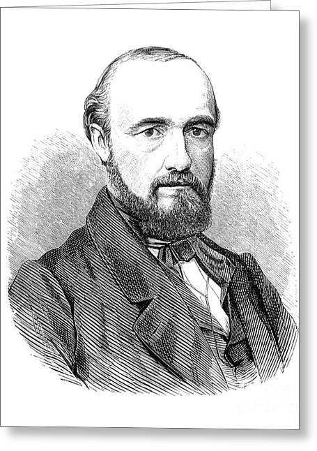 Carl Wunderlich, German Physician Greeting Card by Science Source
