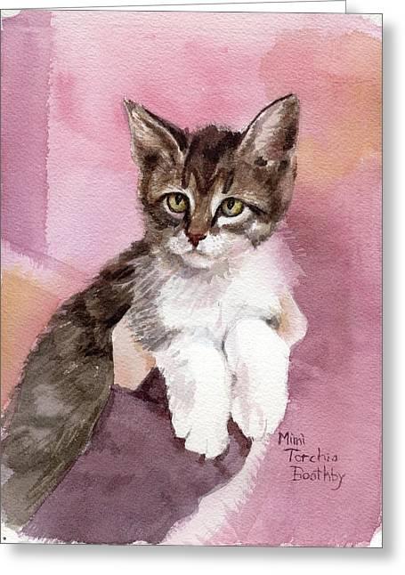 Carlisle - Kitten Greeting Card