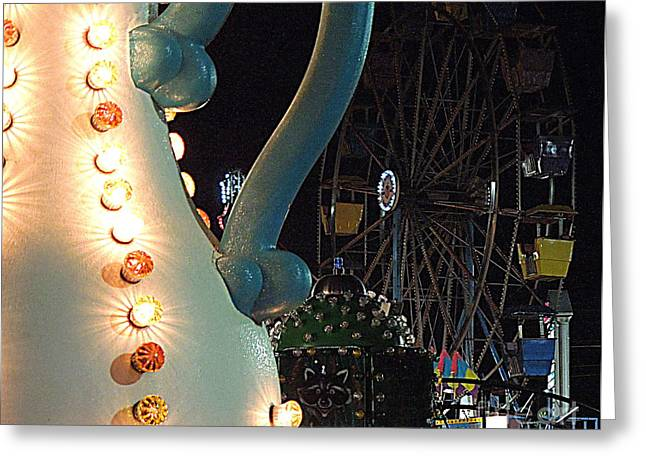 Greeting Card featuring the photograph Carnivale by Renee Trenholm