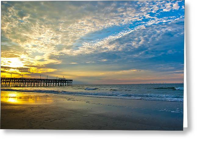 Greeting Card featuring the photograph Carolina Sunrise by Francis Trudeau