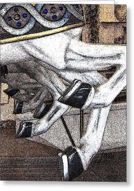 Carousel Hoof Beats Greeting Card