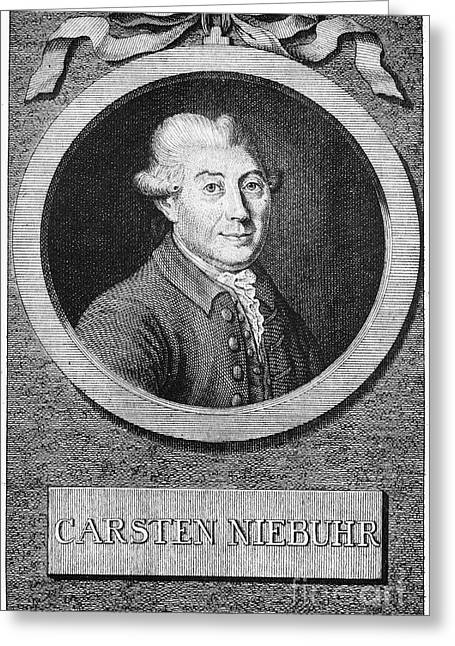 Carsten Niebuhr (1753-1815) Greeting Card