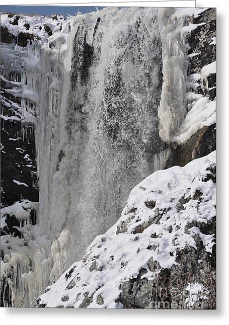 Cascade Greeting Card by Sylvie Leandre