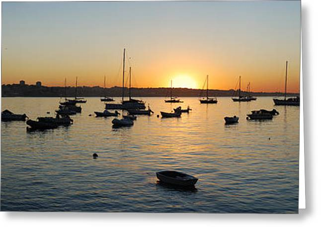 Cascais At Dawn Greeting Card