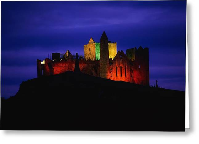 Cashel Rock, Co Tipperary, Ireland Greeting Card