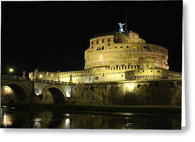 Castel Sant'angelo Greeting Card
