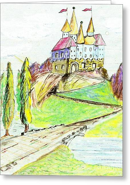 Castile Castle Greeting Card