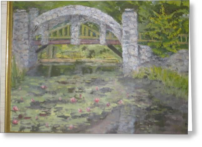 Castle Bridge Greeting Card