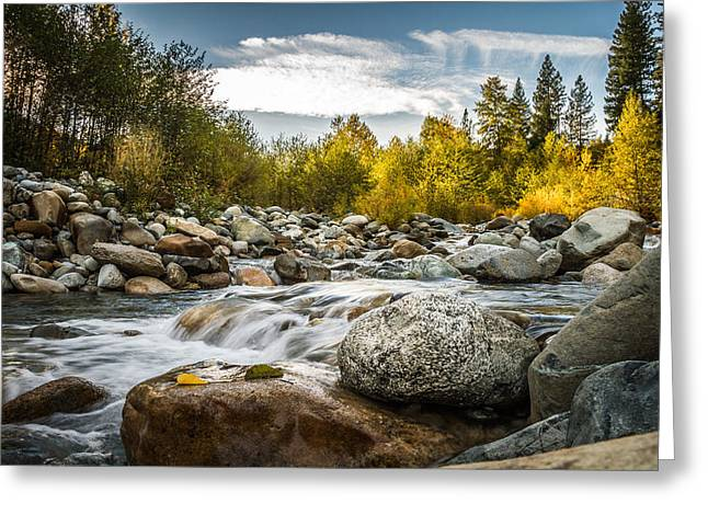 Greeting Card featuring the photograph Castle Creek by Randy Wood
