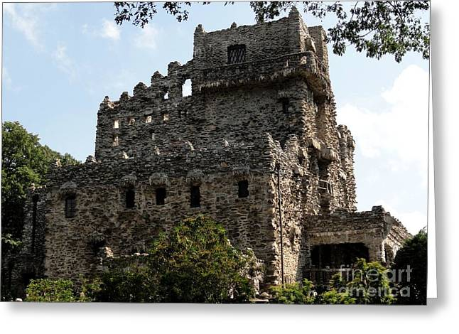 Castle On The Connecticut River Greeting Card by Meandering Photography