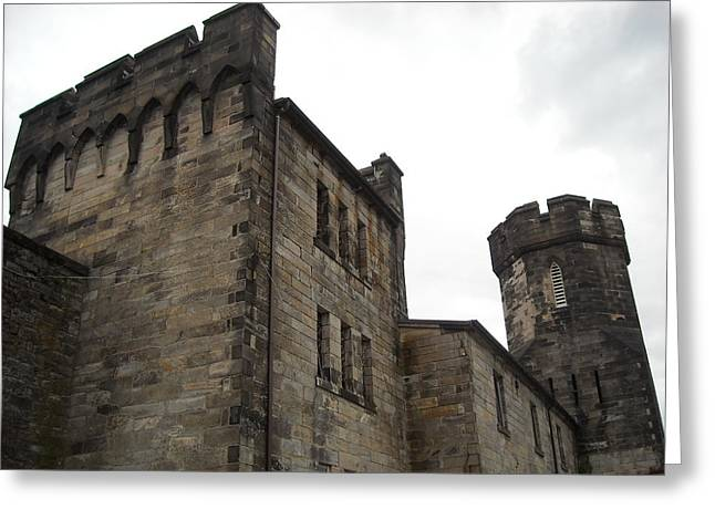 Castle Penitentiary Greeting Card by Christophe Ennis