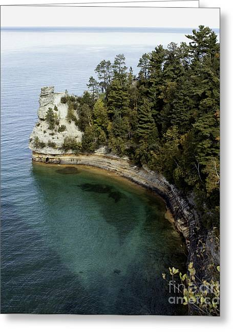 Castle Rock Shoreline Greeting Card