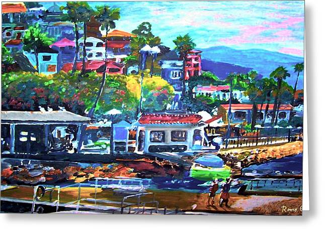 Catalina Island 2 Greeting Card by Rom Galicia