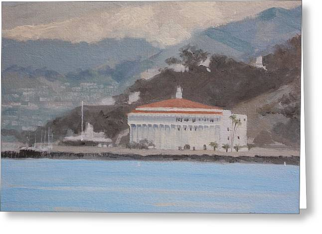 Catalina  Morning Greeting Card by Robert Rohrich