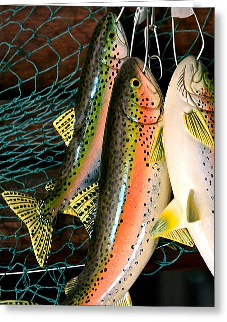 Catch Of The Day Greeting Card by Karon Melillo DeVega