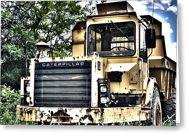Caterpillar's Front Greeting Card by Shane York