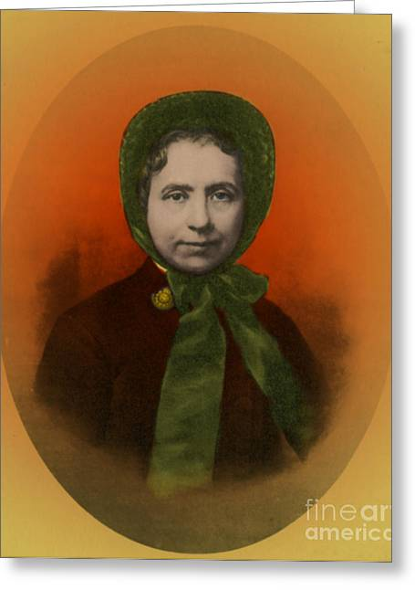 Catherine Booth, Co-founder Salvation Greeting Card by Photo Researchers