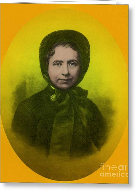 Catherine Booth, Co-founder Salvation Greeting Card by Science Source