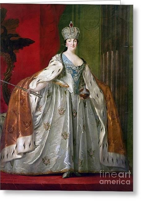 Catherine II Of Russia Greeting Card by Granger
