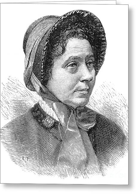 Catherine Mumford Booth (1829-1890) Greeting Card by Granger