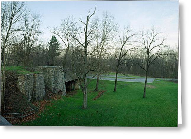Catoctin Furnace Greeting Card by Jan W Faul